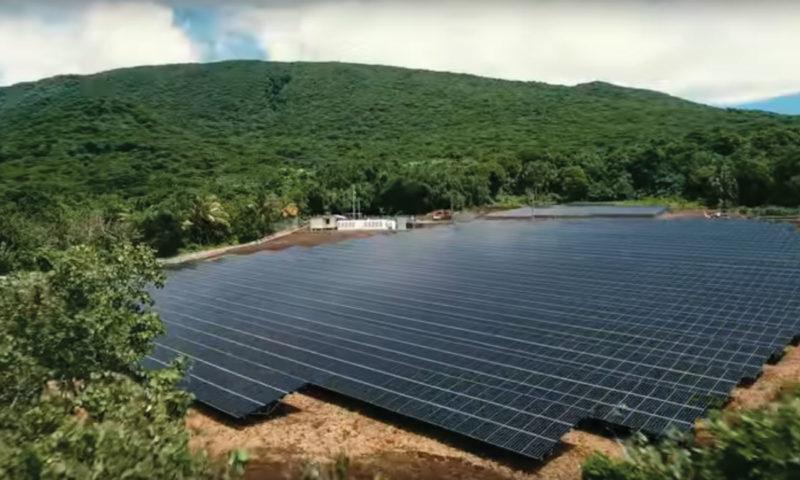 Solar array American Samoa