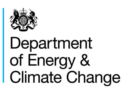 Department of Energy and Climate Change logo