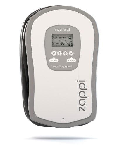 Zappi solar electric car charger